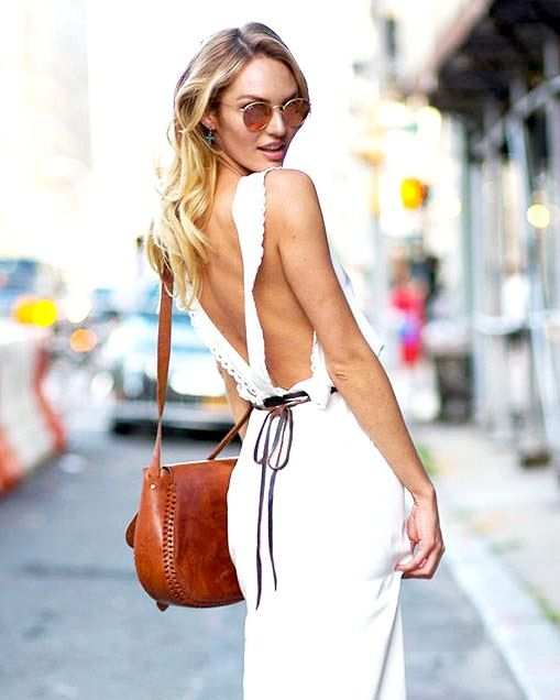 Model-Off-Duty Style: Get Candice Swanepoel's Flirty Summer Look
