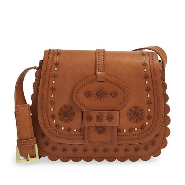 Big Buddha Embroidered Western Crossbody Bag