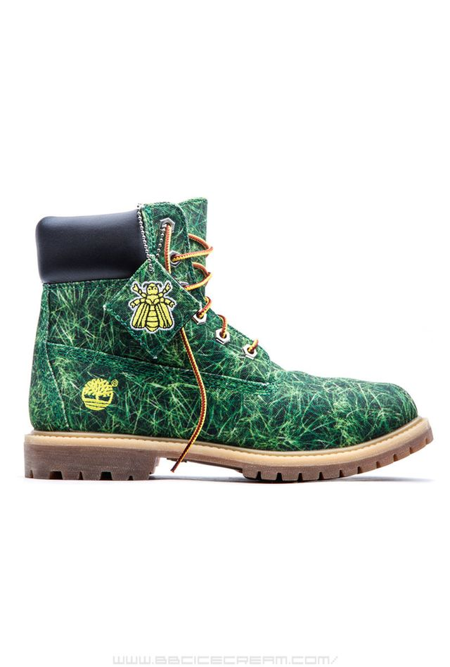 Timberland Bee Line for Billionaire Boys Club Boots in Grass