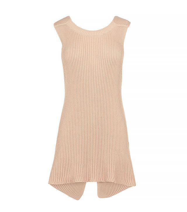 Stella McCartney Ribbed Twisting Sleeveless Jumper