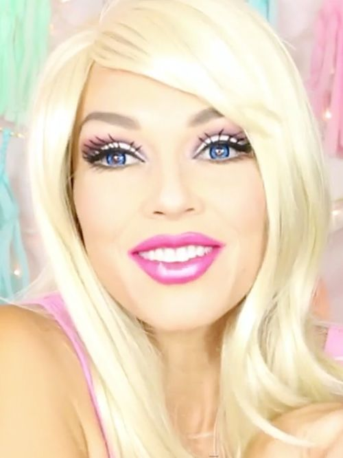 Watch A Makeup Artist Transform Into A Real-Life Barbie In