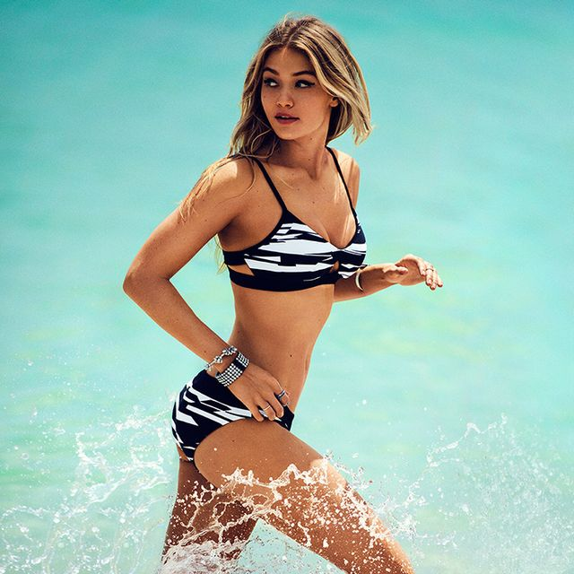 Drop-Dead Gorgeous: See Gigi Hadid's Newest Swim Campaign