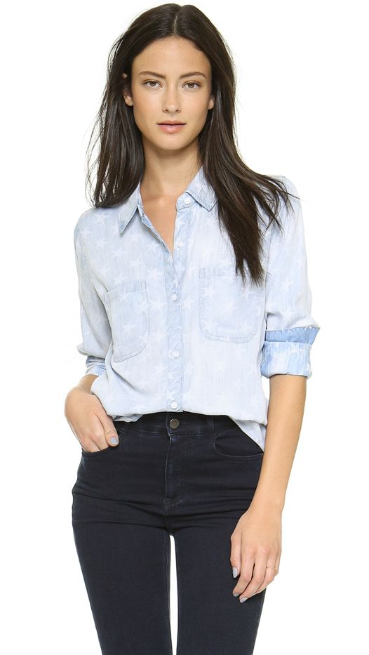 Rails Carter Star Button Down Shirt