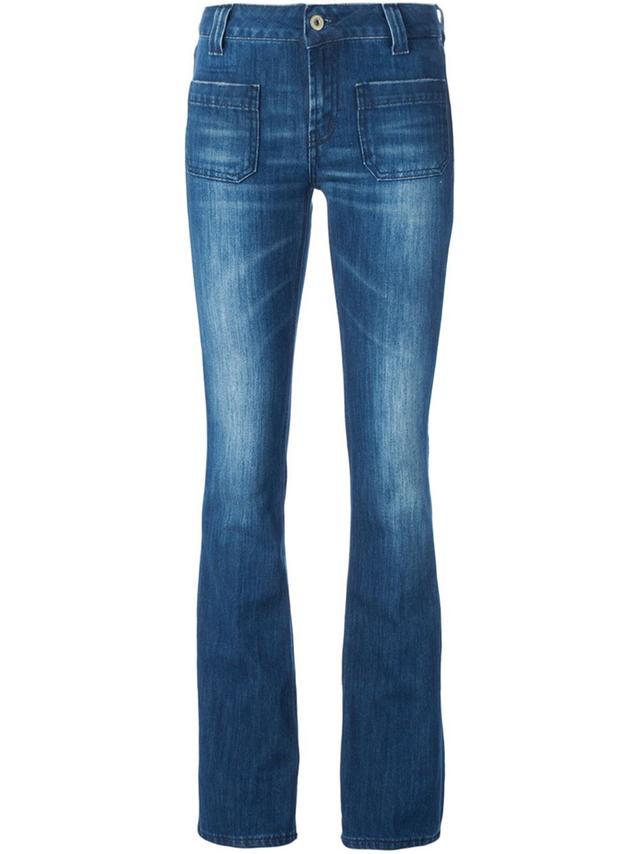 Dondup Front Pocket Flared Jeans