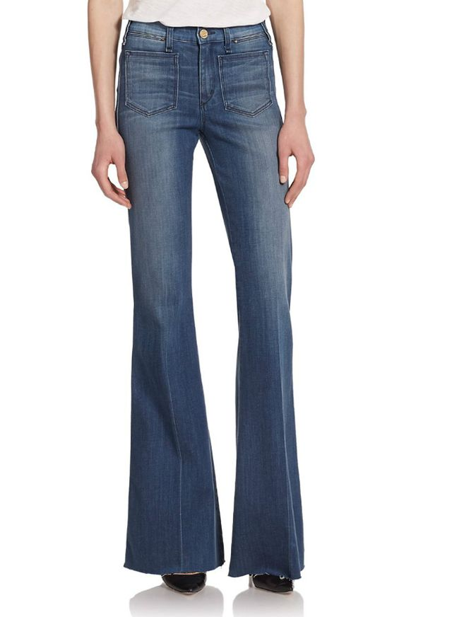McGuire Inex Patch-Pocket Flared Jeans