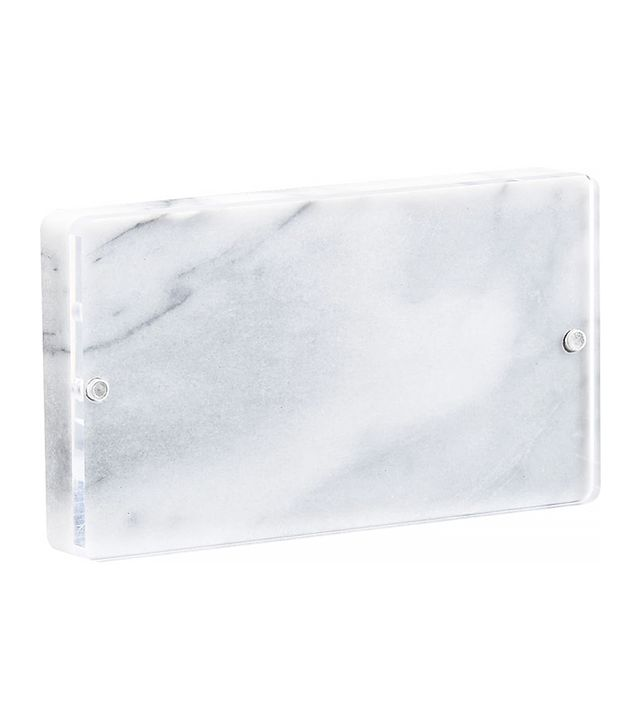 CB2 Marble 4x6 Picture Frame