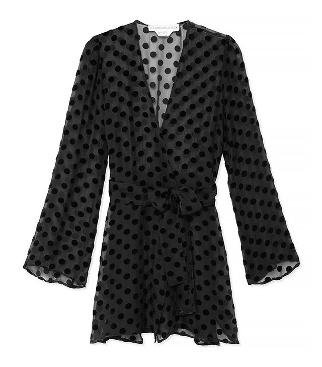 Stone Cold Fox Dotted Stone Robe