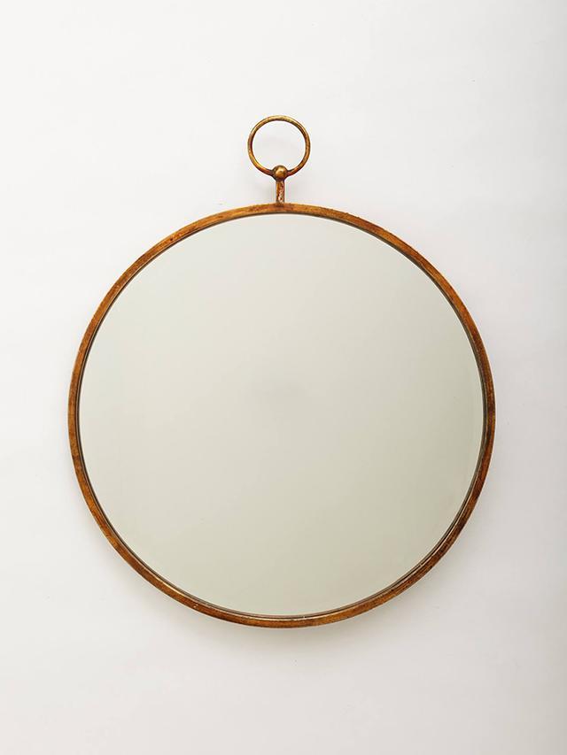 Anthropologie Simple Hoop Mirror