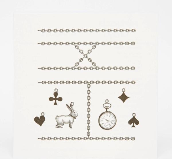 Paperself Wonderland Ring Tattoos