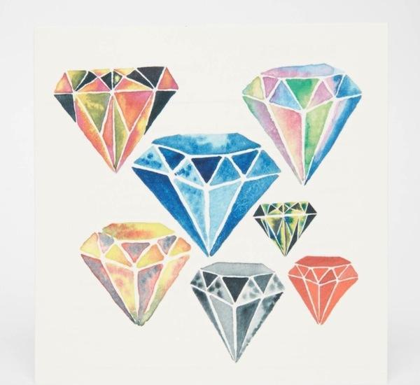 Paperself Diamonds Tattoos
