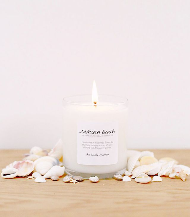 The Little Market Laguna Beach Soy Blend Candle