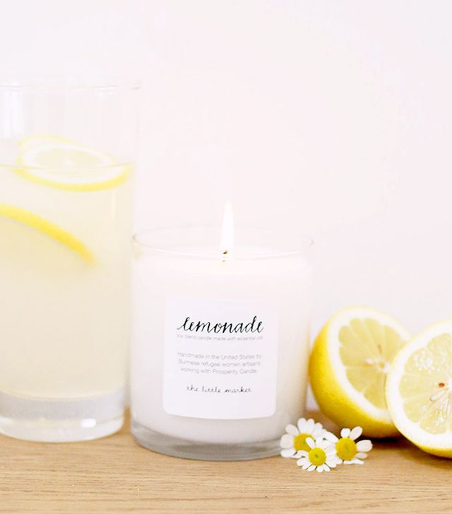 The Little Market Lemonade Soy Blend Candle