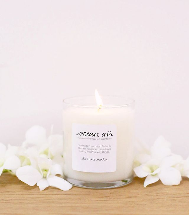 The Little Market Ocean Air Soy Blend Candle