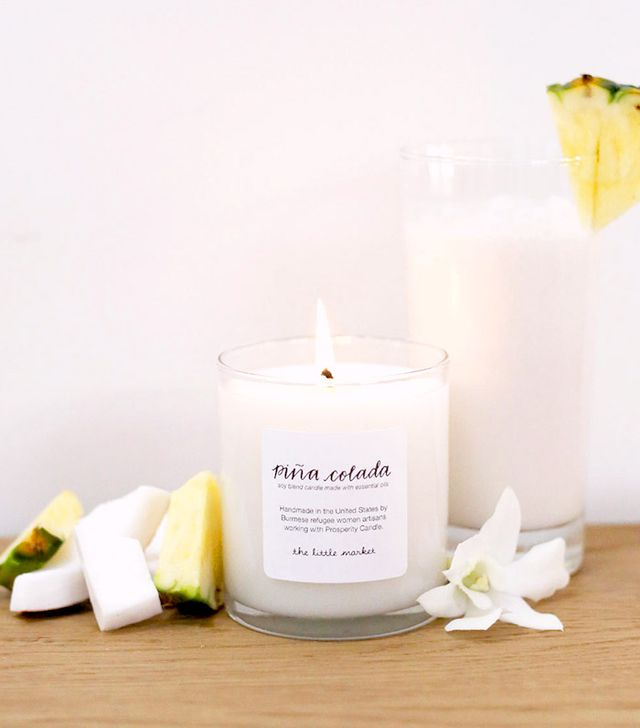 The Little Market Piña Colada Soy Blend Candle