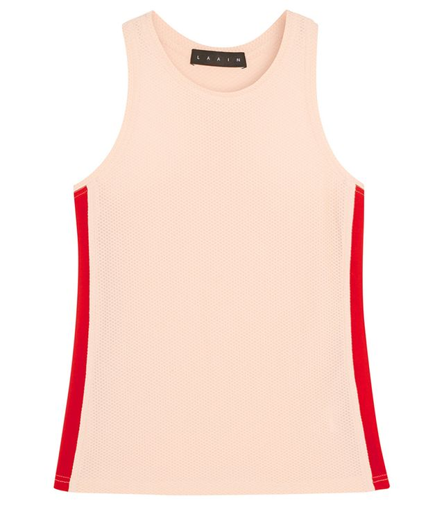 Laain Honeycomb-Knit Stretch Tank