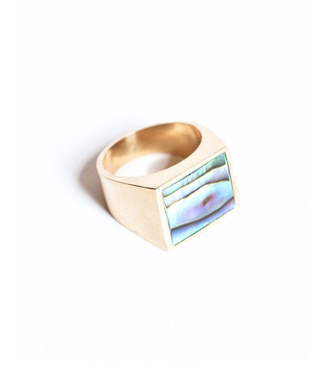 Legier & Livaudais Abalone Ring
