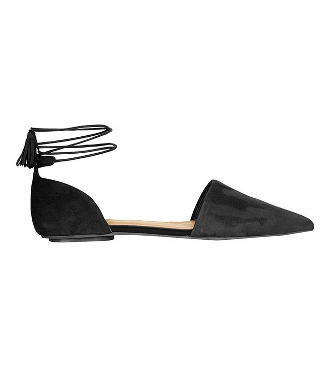 Topshop Kaiser Ankle Tie Shoes