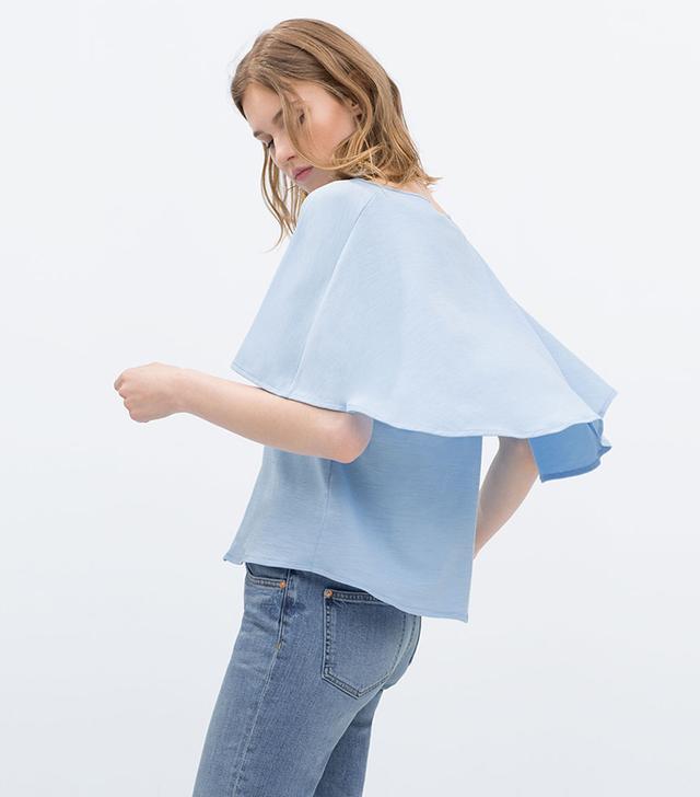 Zara Double Layer T-Shirt