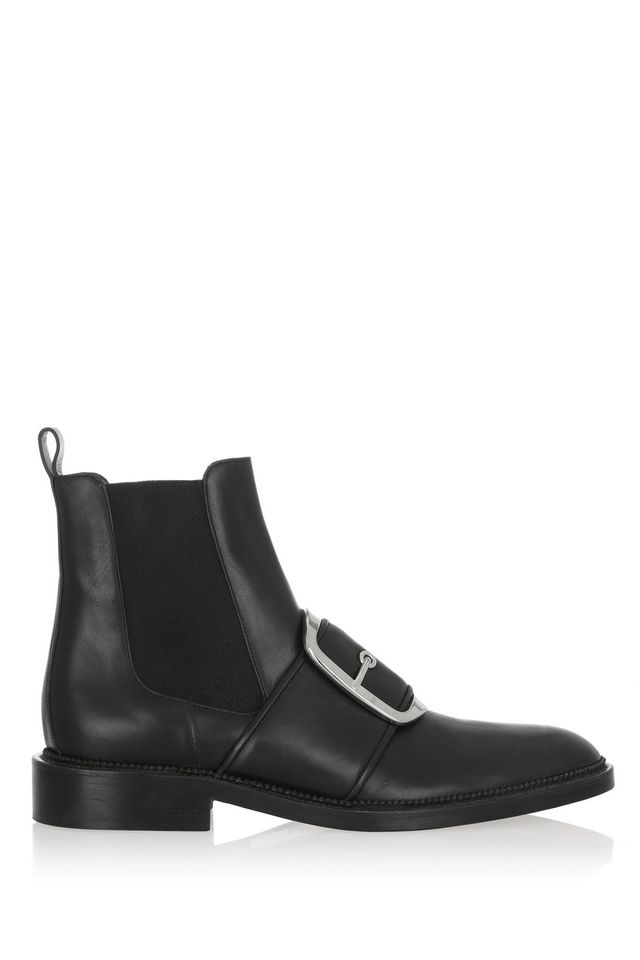 Givenchy Tina Buckle-Embellished Ankle Boots