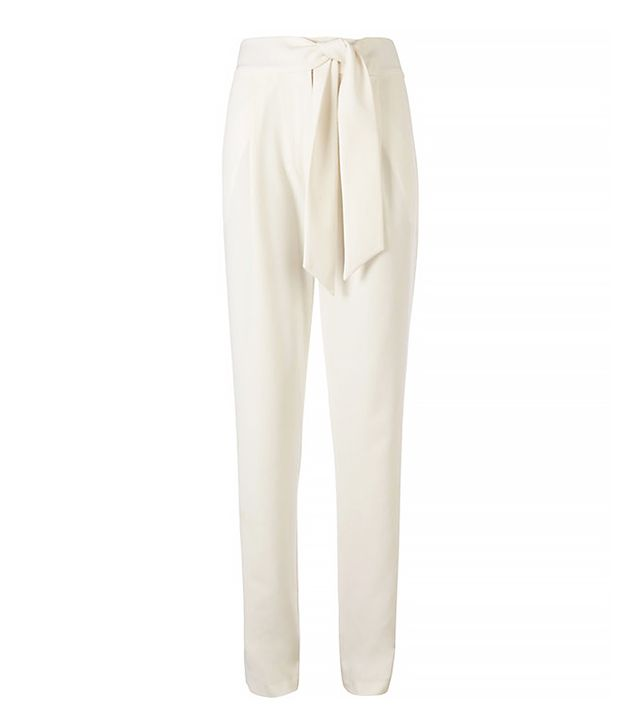Exclusive for Intermix Tie Front Tapered Pants