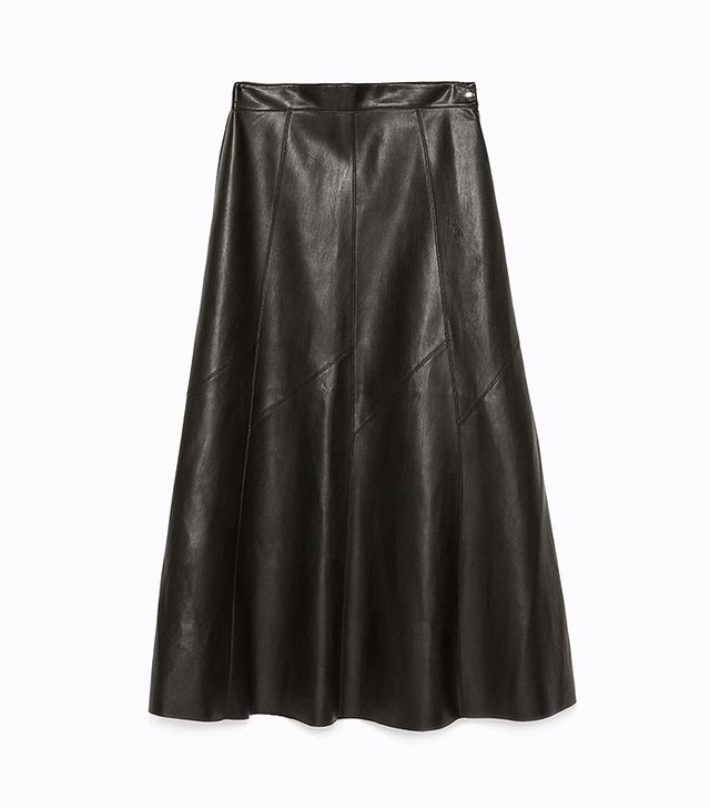 Zara Seamed Long Skirt