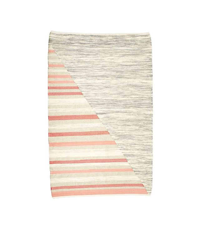 West Elm Axis Stripe Wool Kilim Rug