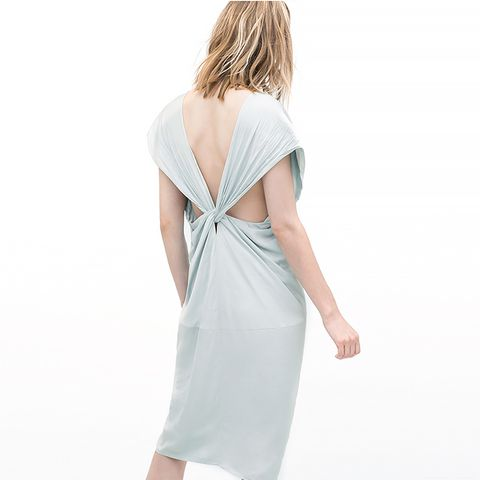 Strappy Dress with Back Knot