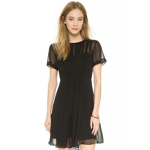 Marquee Silk Dress