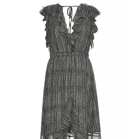 Sophie Cobra Print Silk Dress