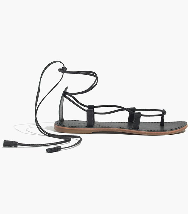 Madewell The Sightseer Lace-up Sandal