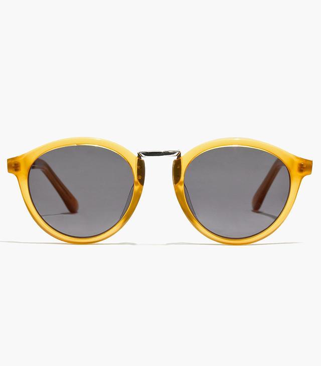 Madewell Indio Sunglasses in Yellow