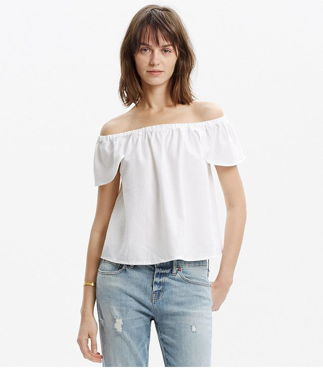 Madewell Off-the-shoulder