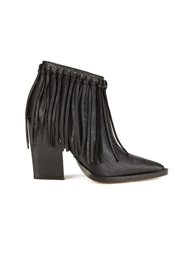 By Malene Birger Ounni Leather Tassle Ankle Boots