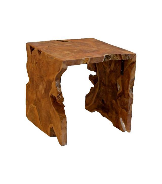 Target Baum Teakwood Square Side Table