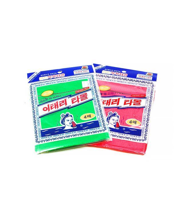 Asian Exfoliating Bath Washcloth