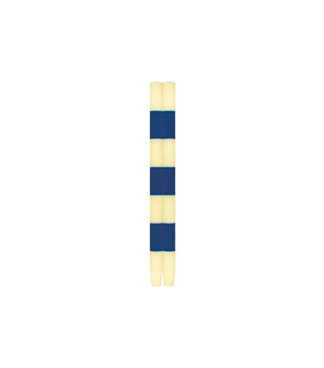 Ana Candles Pageant Striped Tapers