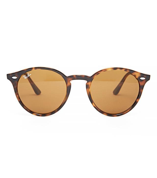 Ray-Ban Round Sunglasses in Dark Havana