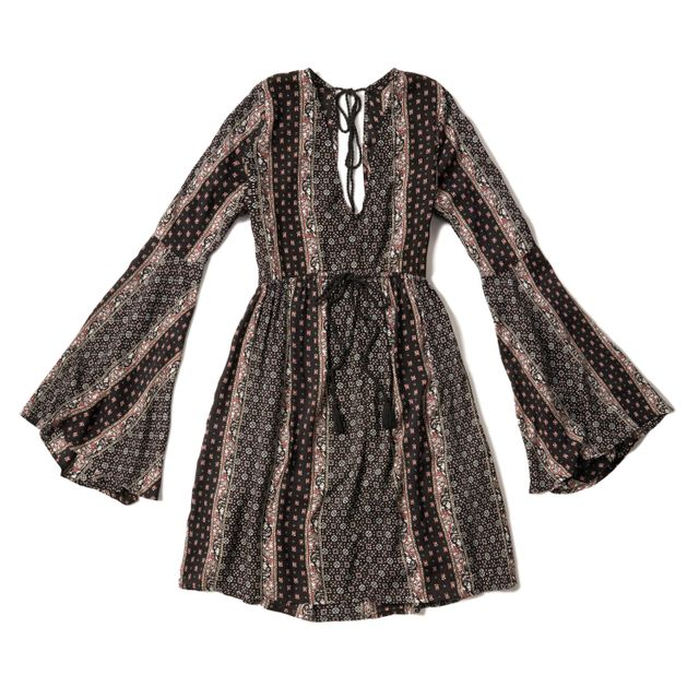 Abercrombie & Fitch Patterned Caftan Dress
