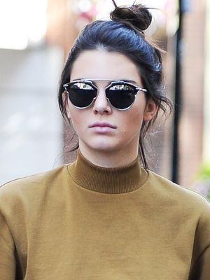Only Kendall Jenner Could Do a Cropped Sweatshirt for Day AND Night