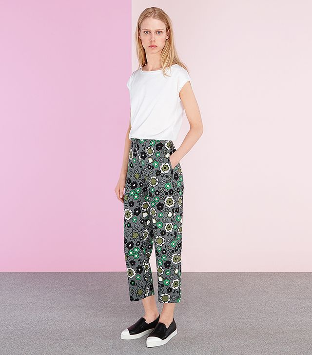 Finery Ida Kitsch Posey Straight Leg Trousers