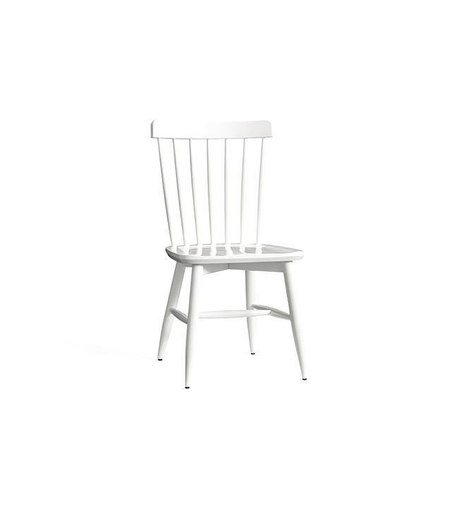 Pottery Barn Tilden Spindle Back Side Chair