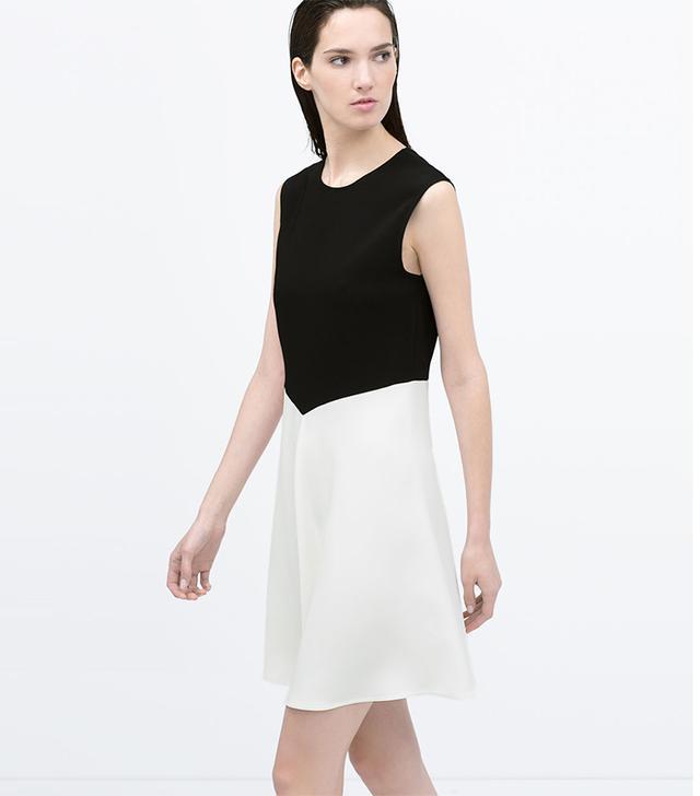 Zara Two-Tone Dress