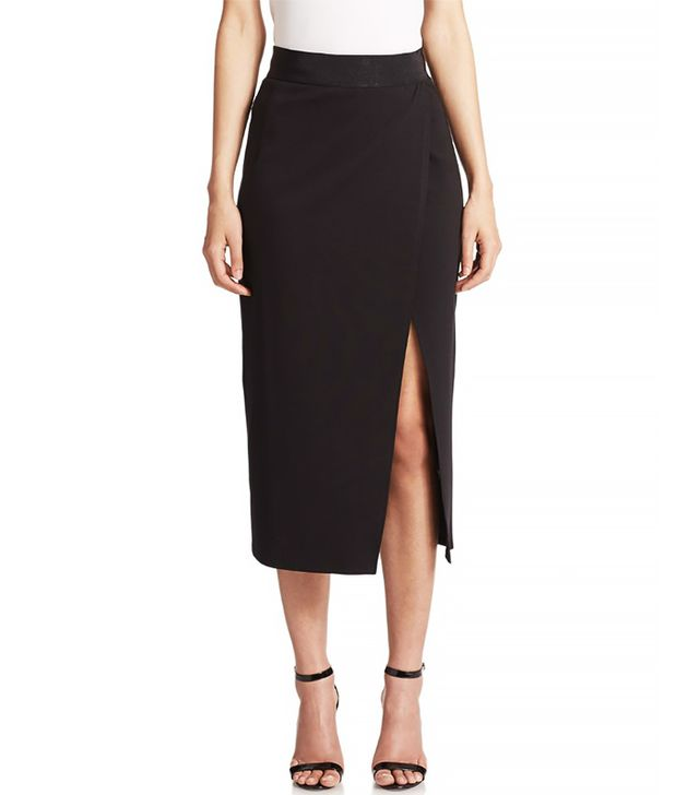 ABS Crossover Pencil Skirt
