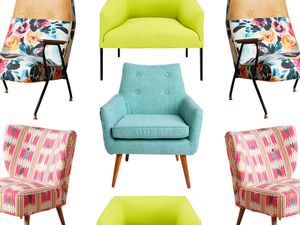 10 Colourful Accent Chairs We're Eyeing