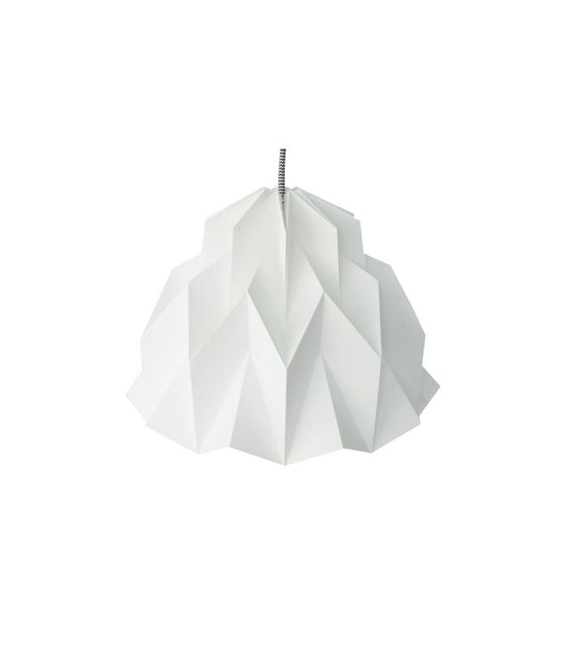 Fibre Store Origami Paper Lamp Shade