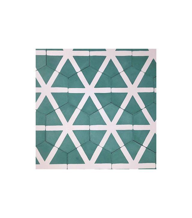 Popham Design Hex Crossroads Tile