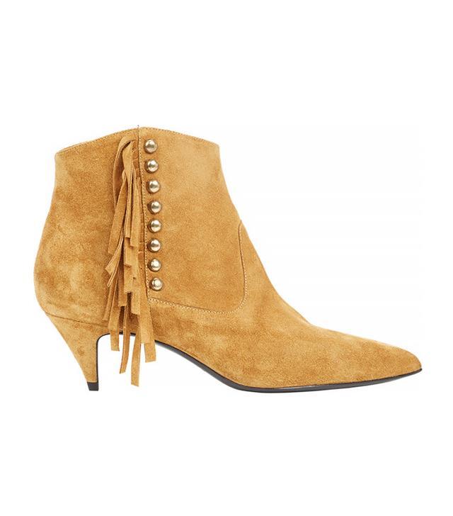 Saint Laurent Embellished Cat Boots