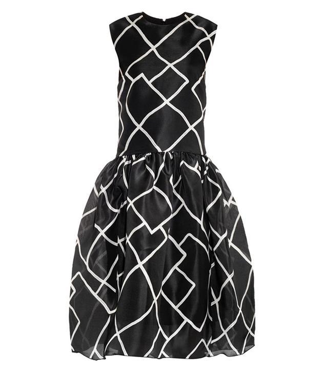 Ellery Merdian Geometric-Print Dress