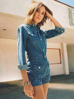 First Look: Alexa Chung's Latest AG Collection