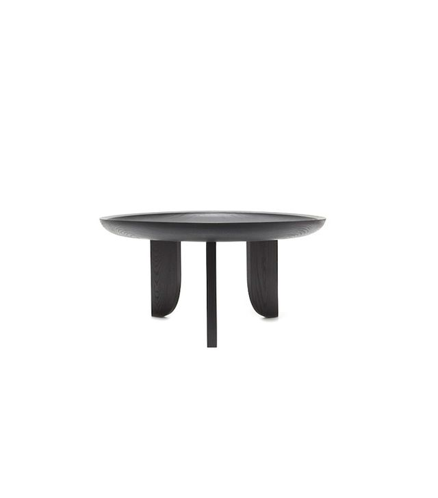 Grain Dish Coffee Table Black
